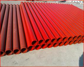 Best Quality Most Popular in Chile,India,Saudia,Schwing Stationary MF Thickness 4.5mm Concrete Pump Straight PipeLine DN125*3M with 166MM MF Flange